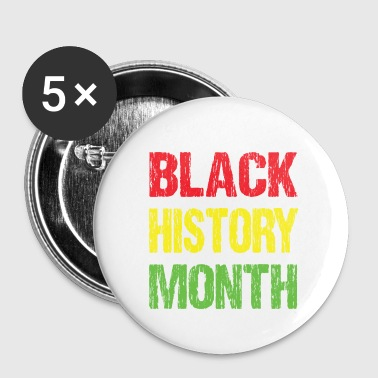 Black history month - Small Buttons