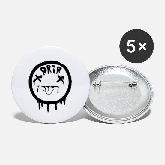 Drip Buttons - Drip logo - Small Buttons white