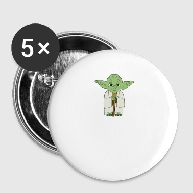 Yoda in trouble - Small Buttons