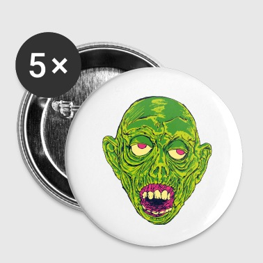 Graveyard Ghoul Slime Green - Small Buttons
