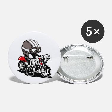 Helmet Caferacer Helmet motorcycle - Small Buttons