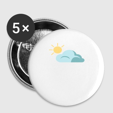Dad Jokes Chance of Dad Jokes Funny Jokes - Small Buttons
