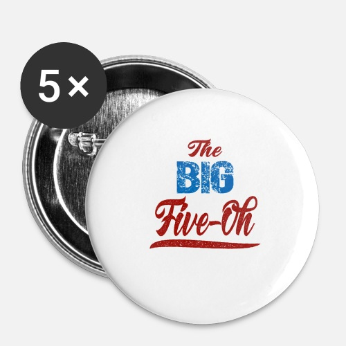 Small ButtonsThe Big Five Oh 50th Birthday Present