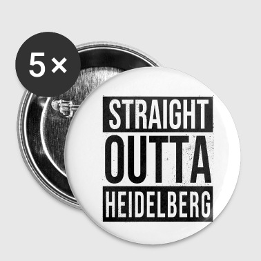 Straight Outta Heidelberg - Small Buttons
