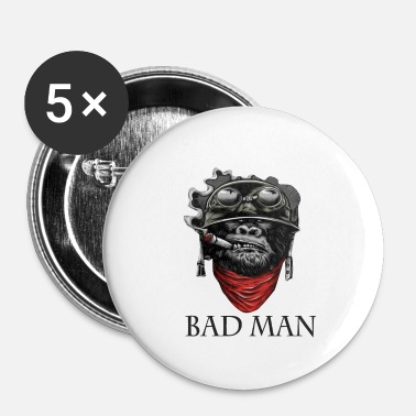 bad man - Small Buttons