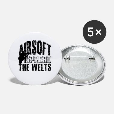 Airsoft Spread The Welts - Small Buttons
