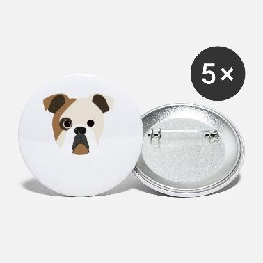 Bulldog Bulldog - English Bulldog - Small Buttons