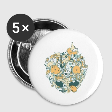 EARTH - Global Warming Effects - Small Buttons