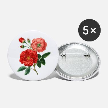 Rose Red Rose Perfect Gift Idea - Small Buttons