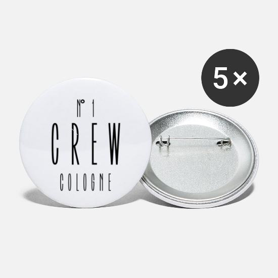 Man Buttons - No.1 Crew Cologne - Small Buttons white