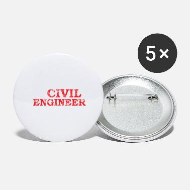 Civil Engineering civil engineer - Small Buttons