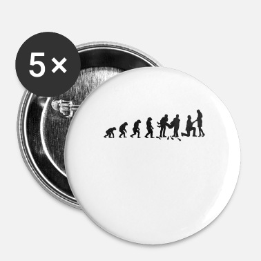 Evolution Evolution marriage - Small Buttons