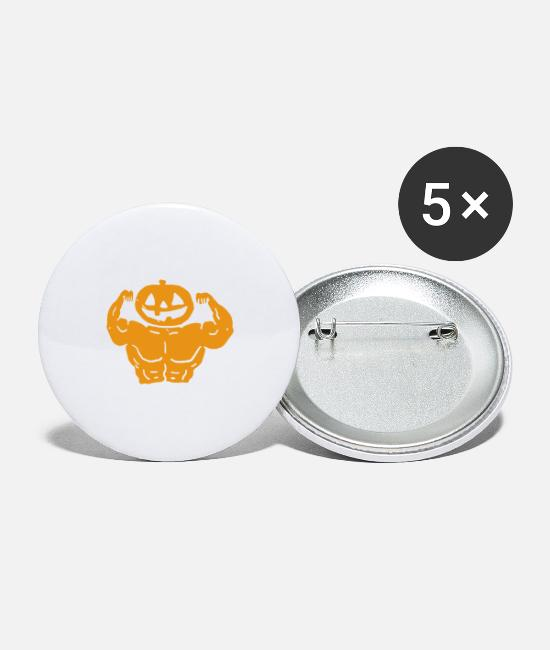Treatment Buttons & Pins - Thicc or Treat Tshirt Halloween Gifts - Small Buttons white