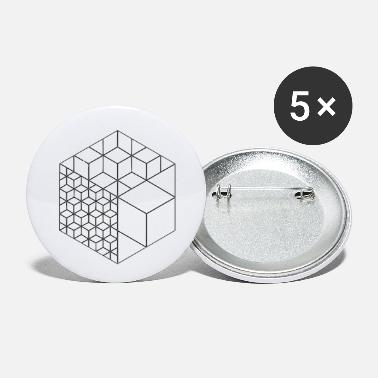Cube cubes - Small Buttons