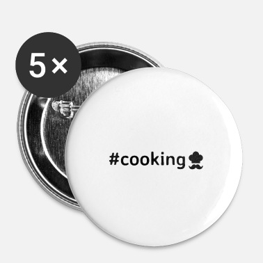 Cook Cooking - Small Buttons