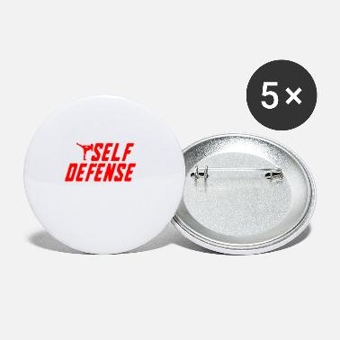 Self Defense - Small Buttons