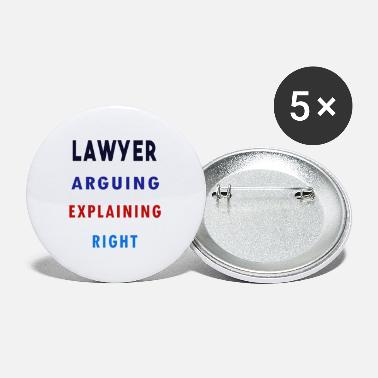 Funnywitty Lawyer: I'm Not Arguing, I'm Just Explaining why I - Small Buttons