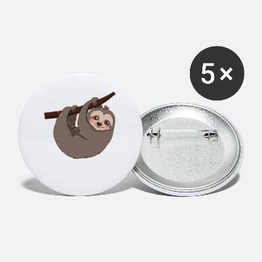 Present Sloth Gift & Present Hanging - Small Buttons