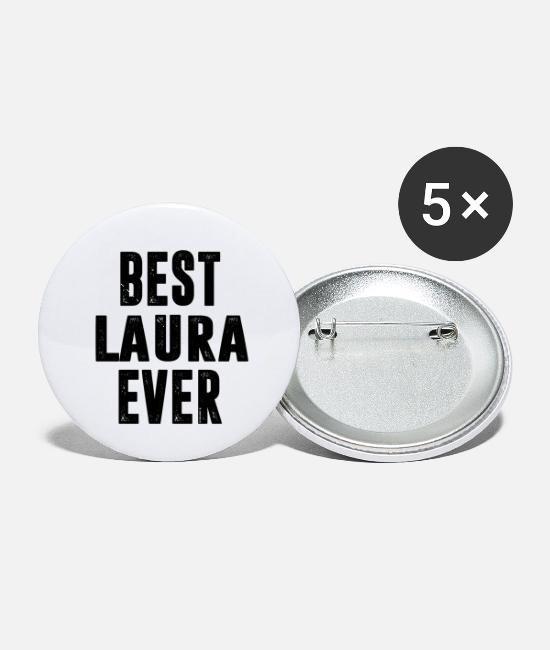 Laura Buttons & Pins - LAURA - Small Buttons white