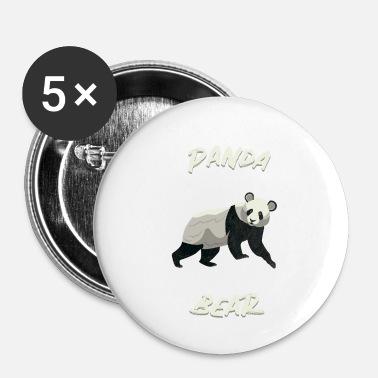 98b7dd04847ee panda bear bamboo lazy animal asia china gift Small Buttons ...
