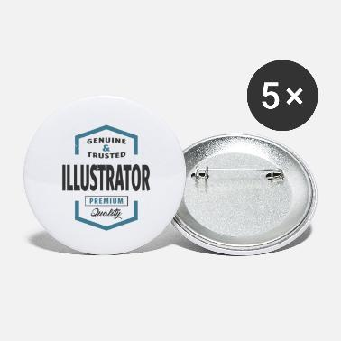 Illustration Illustrator - Small Buttons