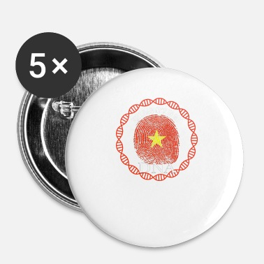 Vietnamese Vietnam Its In My DNA - Small Buttons