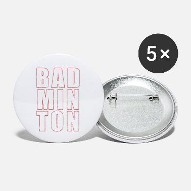 Badminton Badminton - Small Buttons