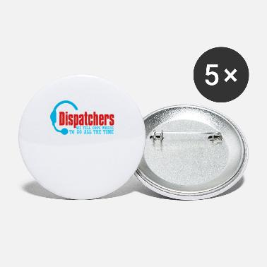 Dispatch Dispatchers - Small Buttons