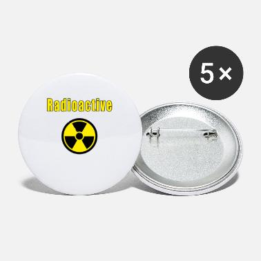 Radioactive radioactive - Small Buttons