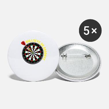 Dart Bullseye Bullseye Dart Dart Darts Dartboard Club - Small Buttons