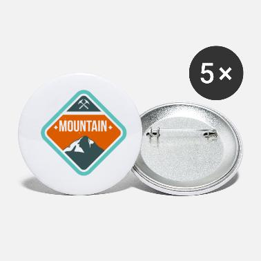 Mountains Mountain - Small Buttons