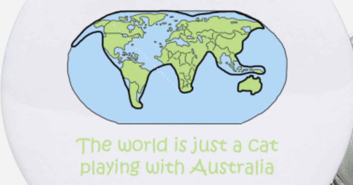 cat world map global australia gift shirt Small ons | Spreadshirt on small climate map, small map of europe, small black and white world maps, small map of india, small map of egypt, small map of iraq, small map of canada, small map of africa, 1080p end of the world, small map of finland, small map of america, small map of france, small map of asia, rug of the world, small globe of the world, small map of california, small world map labeled, small map of thailand, small map of iran, small blank world map,