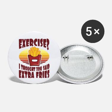 Exercise Exercise? - Small Buttons