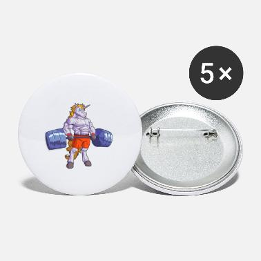 Gym Wear Gym strong unicorn fitness training sporty - Small Buttons