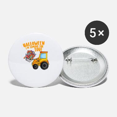 Halloween Digger Excavator Candies - Small Buttons