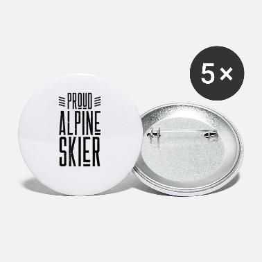 Alpine Alpine Skiing - Small Buttons