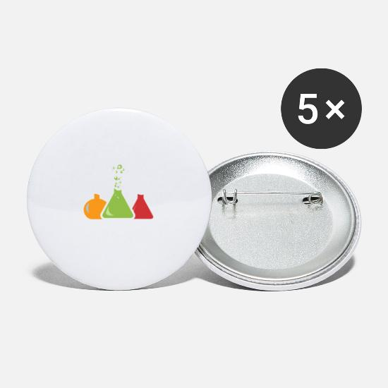 Magic Buttons - Chemistry - Small Buttons white