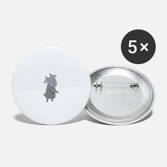 Wool Buttons - You Smell Like Drama And A Headache Funny Gift - Small Buttons white