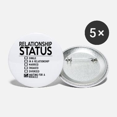 Relationship Relationship Status Single In A Relationship - Small Buttons