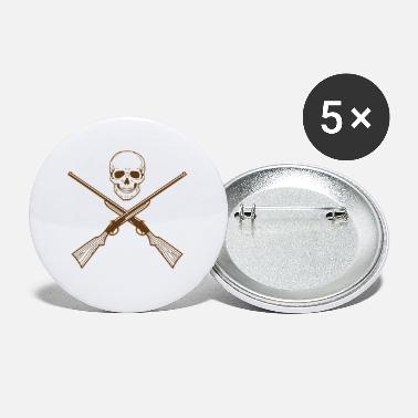 Duck Hunting Skull Hunter Driven Hunt Stalker - Small Buttons