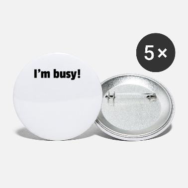 Person The Busy Person - Small Buttons