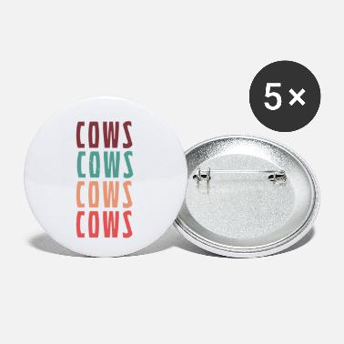 Cow cows cows cows cows - Small Buttons