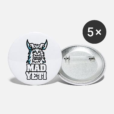 Yeti Yeti Bigfoot Legend - Small Buttons