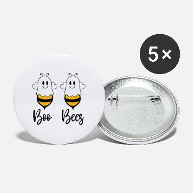 Bees Couples Boo Bees Couples Halloween Costume - Small Buttons