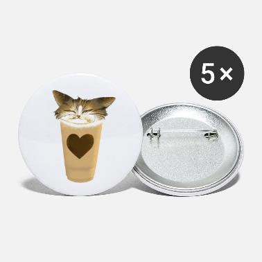 Cappuccino Cappuccino Cat - Small Buttons