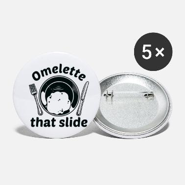 Slide Omelette That Slide - Small Buttons