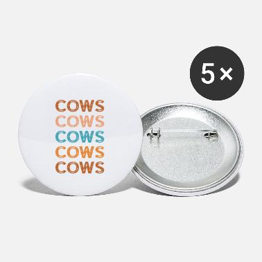 Cow Cows Cows Cows - Small Buttons