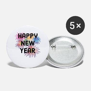 New Year Happy New Year, Happy New Year, Happy New Year - Small Buttons