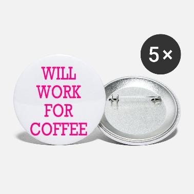 Mugs-cups WILL WORK FOR COFFEE TRAVEL MUG | CUP - Small Buttons