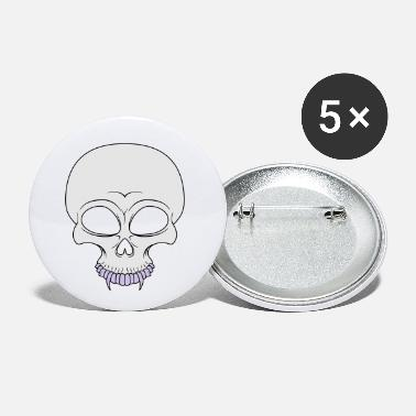Miscellaneous Skull - Small Buttons